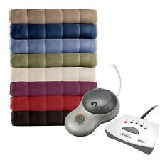 Electric Throw Blanket Walmart Custom Walmartca Sunbeam Quilted Fleece Heated Blanketqueen  $20 Prev Decorating Design