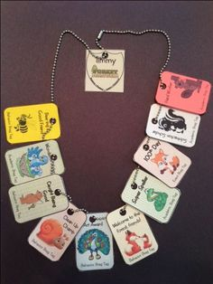 42 Forest Friends themed BRAG TAGS and more!  $