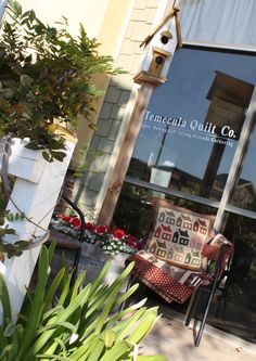 Come by to visit us - my FAVORITE quilt store.  Wish it were not in California....