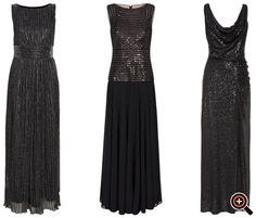 Festliche Kleider 2016 für Damen in kurz, knielang & lang – Abendkleider in schwarz