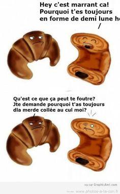 image drole croissant