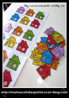 Montessori Activities, Preschool Worksheets, Petite Section, Right Brain, Elementary Math, English Language, Blog, Shapes, Learning