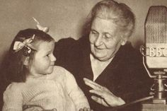 "Maria Montessori looked at education in a new light, one that focused on teaching the ""whole child"" Learn more at Butler Montessori Maria Montessori, Montessori Education, Collage Vintage, Interesting Information, Baby Development, Kids Learning, Little Boys, Life Is Good, Catholic"