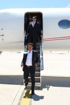 Arrival Sultan Bin Saeed Al Mansoori