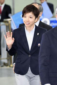 日本選手団主将のスピードスケート・小平奈緒「全力で思う存分」