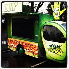 Subway Aardy  built, customized and Operated by Aardvark Event Logistics #mobiletour #electricpromovehicle