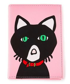 Look at this Pink Cat Passport Case on #zulily today!