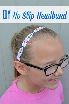 DIY No Slip Headband 2