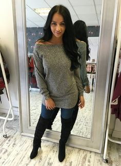 Crazy love jumper grey