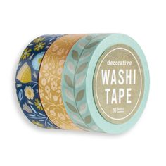 Katie Daisy Washi Tape - Whimsy Set of 3 - Parkside Paper