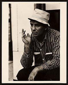 Citation: Jack Kerouac, 1963 / James Oliver Mitchell, photographer. Mark Green papers, Archives of American Art, Smithsonian Institution.