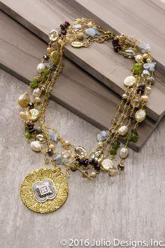 Angelfish #juliodesigns #handmadejewelry #vintage