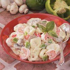 Creamy Shrimp Tortellini Recipe