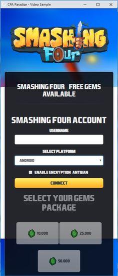 smashing four hack mod apk