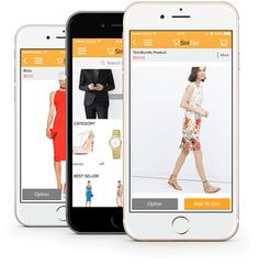SimiCart is a best M-commerce solution that helps Magento merchants mobile apps builder and tailor without coding.  http://www.simicart.com/