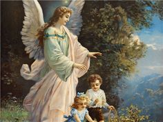 Psalm 91:11: Shows the Father giving His angels commands concerning the protection and guardship of His beloved children. Angels always move to the authoirty and sound of God's voice.