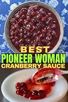 Absolutely quick and easy to make, I go back to this cranberry sauce homemade pioneer woman year after year after year. The juice is nice and thick, and the flavor is all-cranberry with a hint of sweetness. It's what cranberry sauce was meant to be. #cranberrysauce #cranberry
