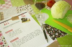 Folha de receita para download - Faça o seu próprio caderno de receitas…