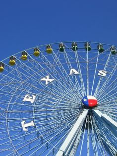 Visit the state fair! Best known for the iconic Texas Star Ferris Wheel, Big Tex, and plenty of foods you never thought to fry, the fair is a popular place for Comets to visit! -Kelsey
