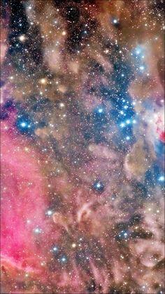 Sky Space Nebula Shine iPhone 6 Wallpaper