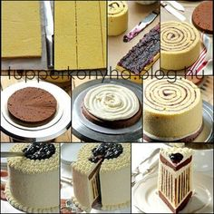 This is How You Can Make a Striped Cake bolo listrado Food Cakes, Cupcake Cakes, Striped Cake, Decoration Patisserie, Diy Cake, Cake Decorating Tips, Creative Cakes, Creative Ideas, Let Them Eat Cake