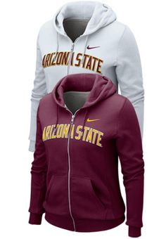 This would make a great gift.... for me! Women's Nike Classic FZ Hood   Arizona State University