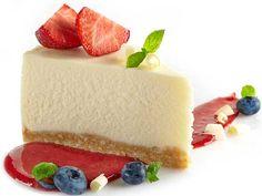 Cheese cake with strawberries/Juustokakku - näillä leivontavinkeillä onnistut