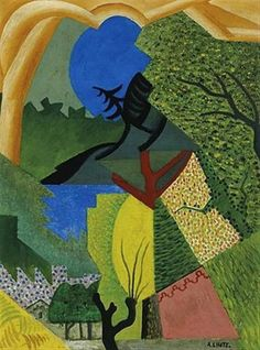 Paisaje by Andre Lhote (French 1885-1962)