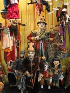 Puppet Museum in Sydney, Australia.  Hard to find, but worth finding.