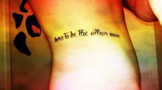 My Lana Del Rey Tattoo! RIDE