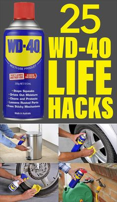 25 amazing WD-40 uses and life hacks! I've heard in the past that there's over 2,000 WD-40 uses.