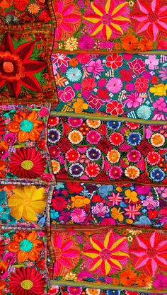 Mexican embroidery. Pinned from Evelyn Chow's color board.