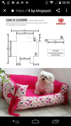 Pet Beds, Dog Bed, Small Dog Clothes Patterns, Dog Coat Pattern, Diy Sewing Projects, Dog Dresses, Dog Coats, Diy Stuffed Animals, Pet Accessories