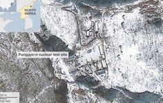 Atividades contínuas detectadas no local de teste nucleares da Coreia do Norte. Um grupo de pesquisa dos EUA relata que a Coreia do Norte está...