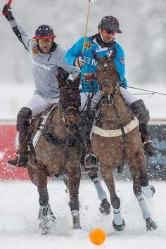 Polo on Snow