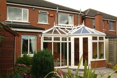 A P Shape conservatory built on this Dublin Home. The Conservatory has been built on matching brick walls and maximises the available space. We have loads more Conservatory photos here http://www.conservatory-designs.ie/conservatories-sunrooms/
