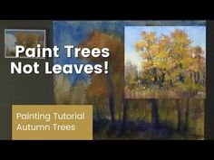 Paint Trees Not Leaves! Learn How to Paint More Suggestive Trees - YouTube