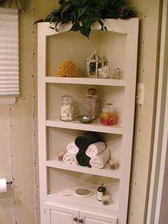 Tutorial on how to build a corner cabinet