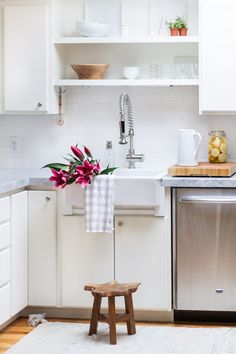 Creative Tips And Tricks For Living In Small Spaces As Part Of A Series For  The · Cottage KitchensDream KitchensKitchen InteriorKitchen ...