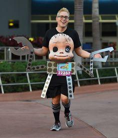 Sids Mutant Toys, Babyface, Toy Story, Running Costume, Disney World Marathon 2017 Click The Pin Run Disney Costumes, Running Costumes, Up Costumes, Disney Cosplay, Family Costumes, Costume Ideas, Costume Parties, Cosplay Ideas, Toy Story Halloween Costume