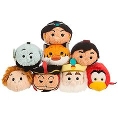 Disney Mini peluches Aladdin de la collection Tsum Tsum   Disney Store