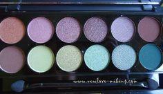 Sleek MakeUP i-Divine Garden of Eden Palette Review, Swatches