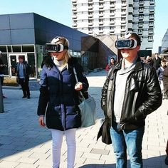 An awesome Virtual Reality pic! Heute gibt es virtuelle Touren durch unser Studentenwohnheim the FIZZ Bremen! #thefizz #fizzig #virtualreality #newtechnology #apartments #free #move #bremen #yourcity #universitybremen #studyingermany by the_fizz_ check us out: http://bit.ly/1KyLetq