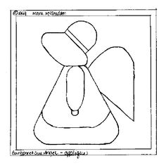 Sunbonnet Sue Angel Applique