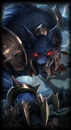 League of Legends- Retro Warwick, The Blood Hunter