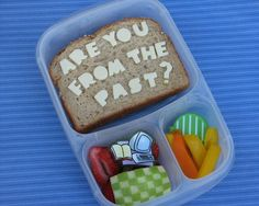 The IT Crowd bento #easylunchboxes