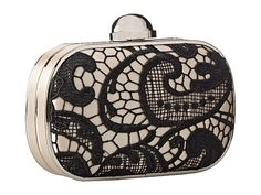 Ornate lace minaudiere from Jessica McClintock. #specialoccasion #clutch #bags #accessories