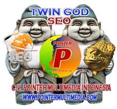 C.V. Pointer Multimedia Indonesia memberikan Jasa SEO ( Search Engine Optimization) yang terjamin dan bergaransi serta berkualitas. Jasa SEO yang kami lakukan merupakan optimasi search engine untuk website anda dengan TIM TWIN GOD SEO kami yang merupakan gabungan dari beberapa Pakar SEO yang kami satukan dalam tim.