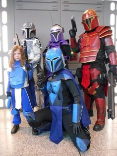 Group of Mandalorian Mercs