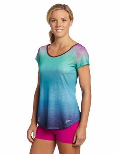ASICS Women's PR Slub Short Sleeve Top